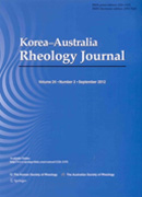 Korea-Australia Rheology Journal